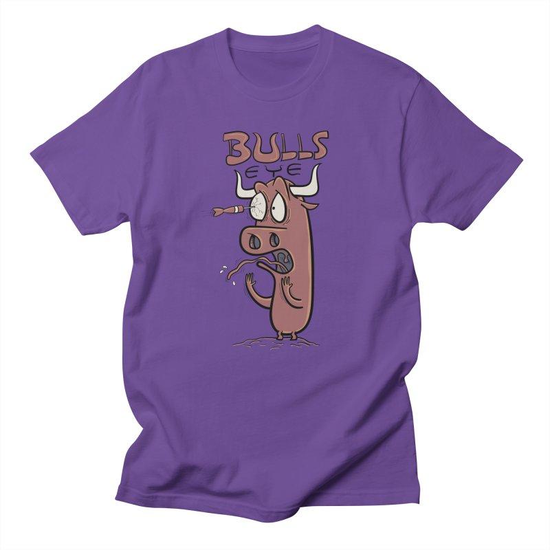 BULLS-EYE Women's T-Shirt by YiannZ's Artist Shop