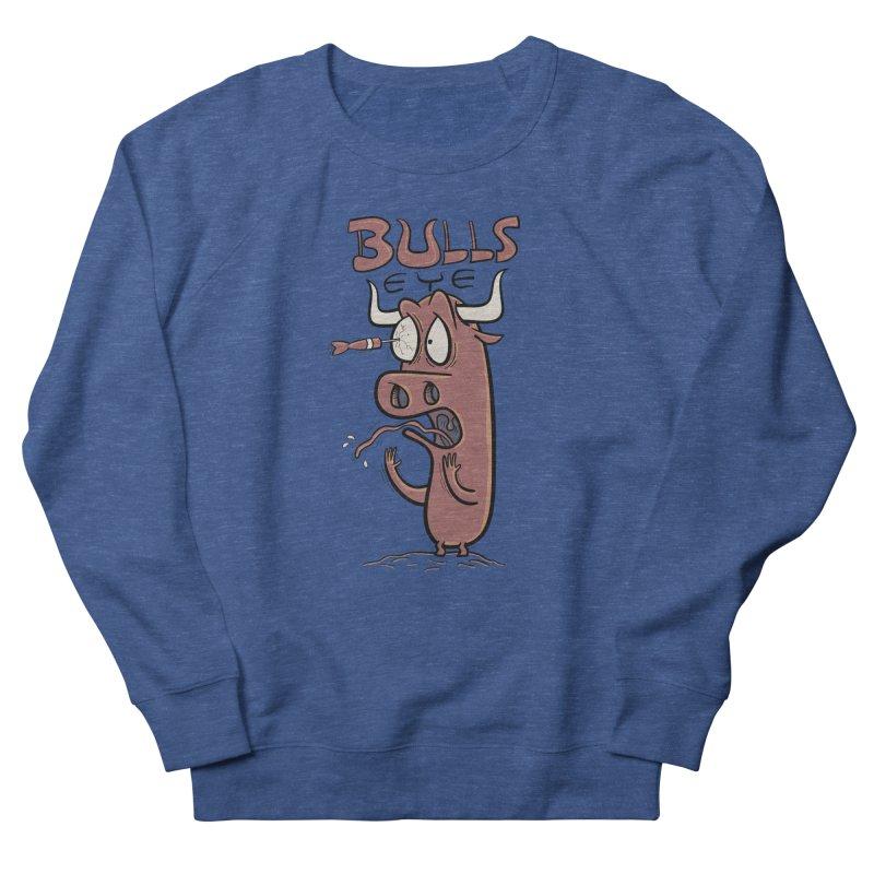BULLS-EYE Women's French Terry Sweatshirt by YiannZ's Artist Shop