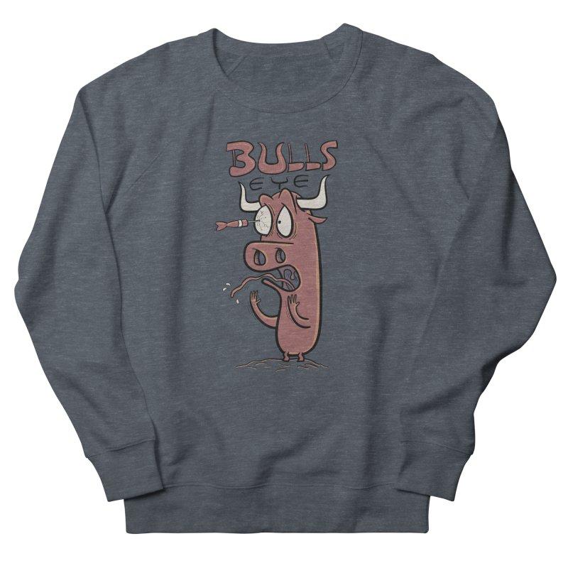 BULLS-EYE Men's Sweatshirt by YiannZ's Artist Shop