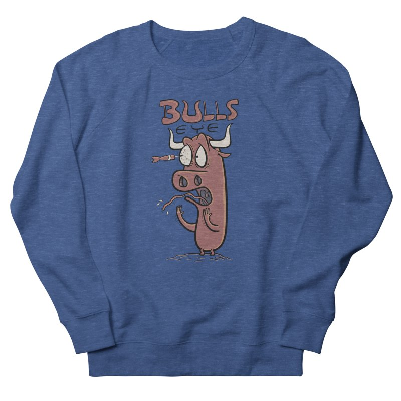 BULLS-EYE Men's Sweatshirt by YiannZ's Artist Shop