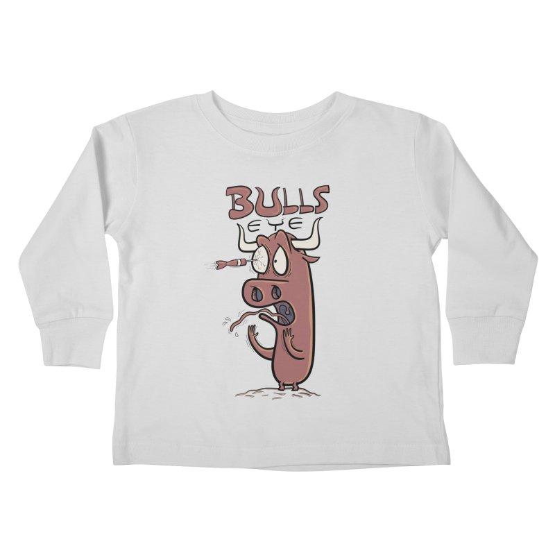 BULLS-EYE Kids Toddler Longsleeve T-Shirt by YiannZ's Artist Shop