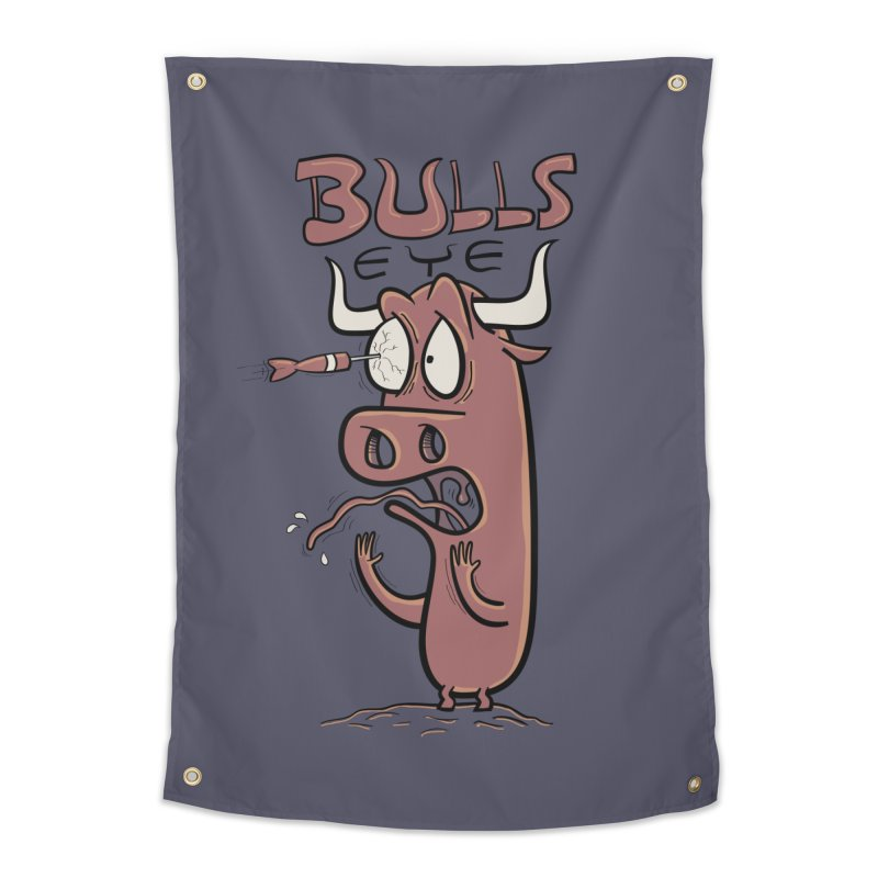 BULLS-EYE Home Tapestry by YiannZ's Artist Shop
