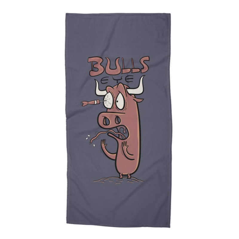 BULLS-EYE Accessories Beach Towel by YiannZ's Artist Shop