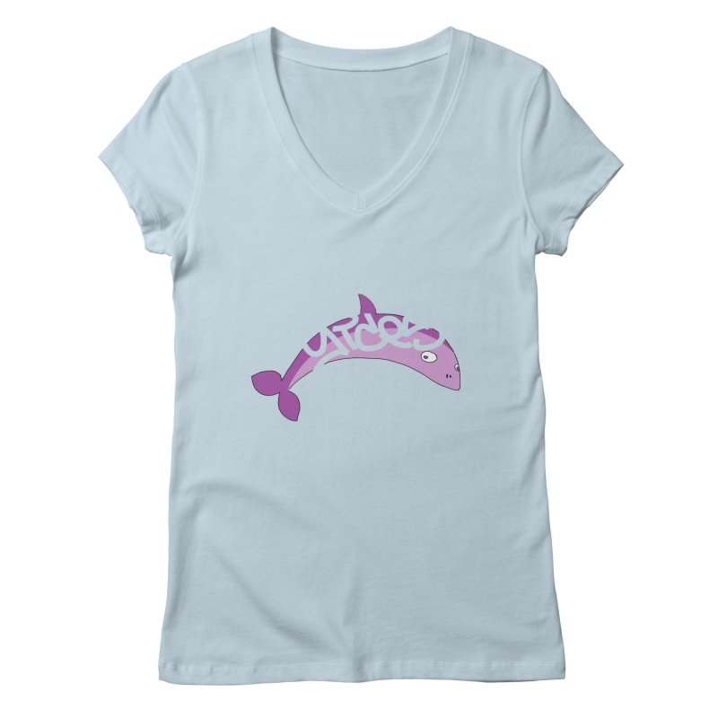 Don't Trust the Rumours Women's V-Neck by Yices's Artist Shop