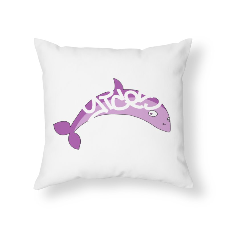 Don't Trust the Rumours Home Throw Pillow by Yices's Artist Shop