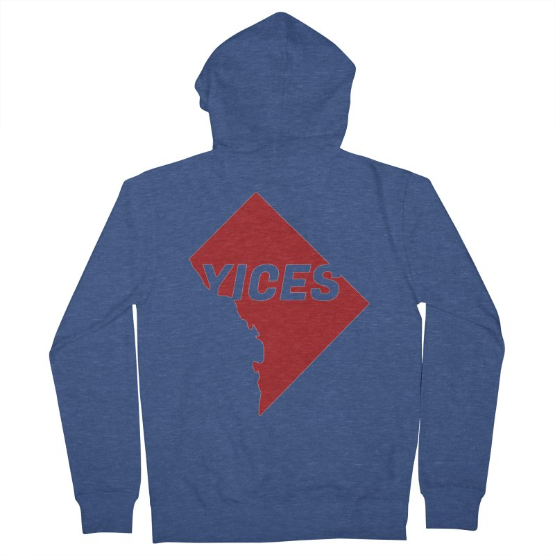 Yices DC Men's Zip-Up Hoody by Yices's Artist Shop