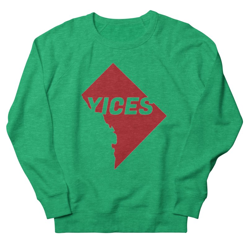 Yices DC Women's French Terry Sweatshirt by Yices's Artist Shop