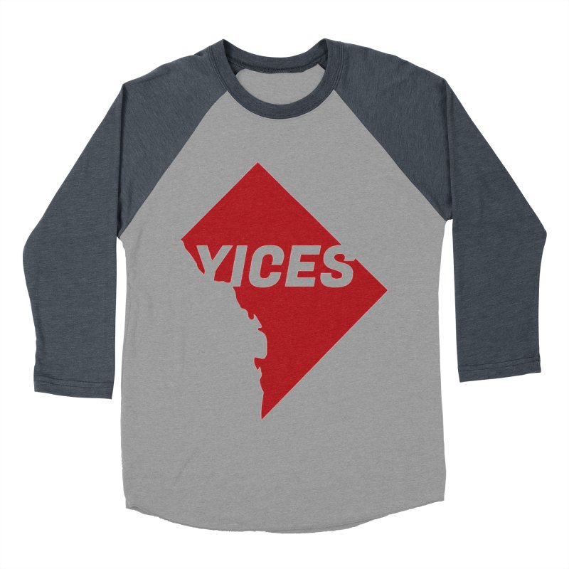 Yices DC Women's Baseball Triblend T-Shirt by Yices's Artist Shop