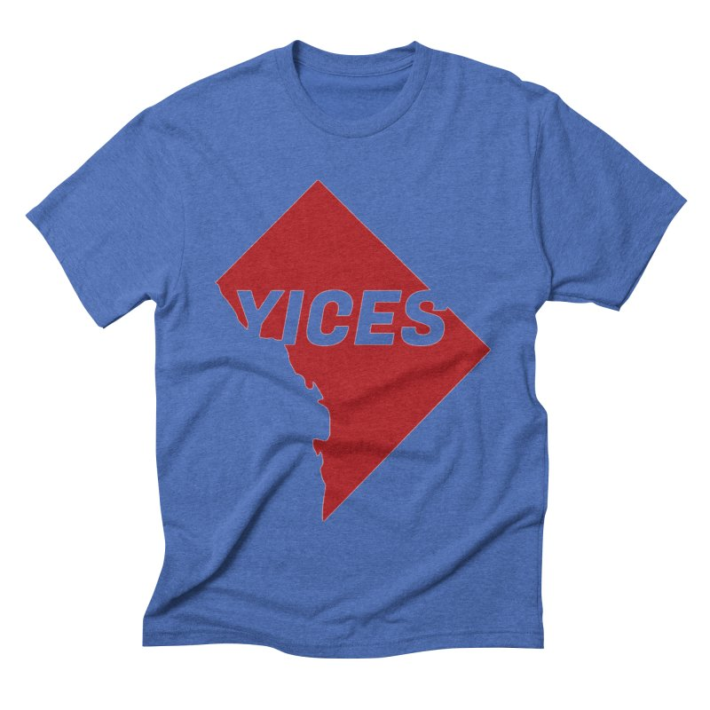Yices DC Men's Triblend T-shirt by Yices's Artist Shop
