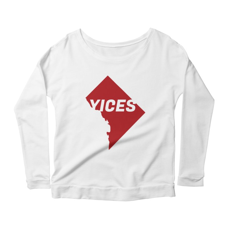 Yices DC Women's Longsleeve Scoopneck  by Yices's Artist Shop