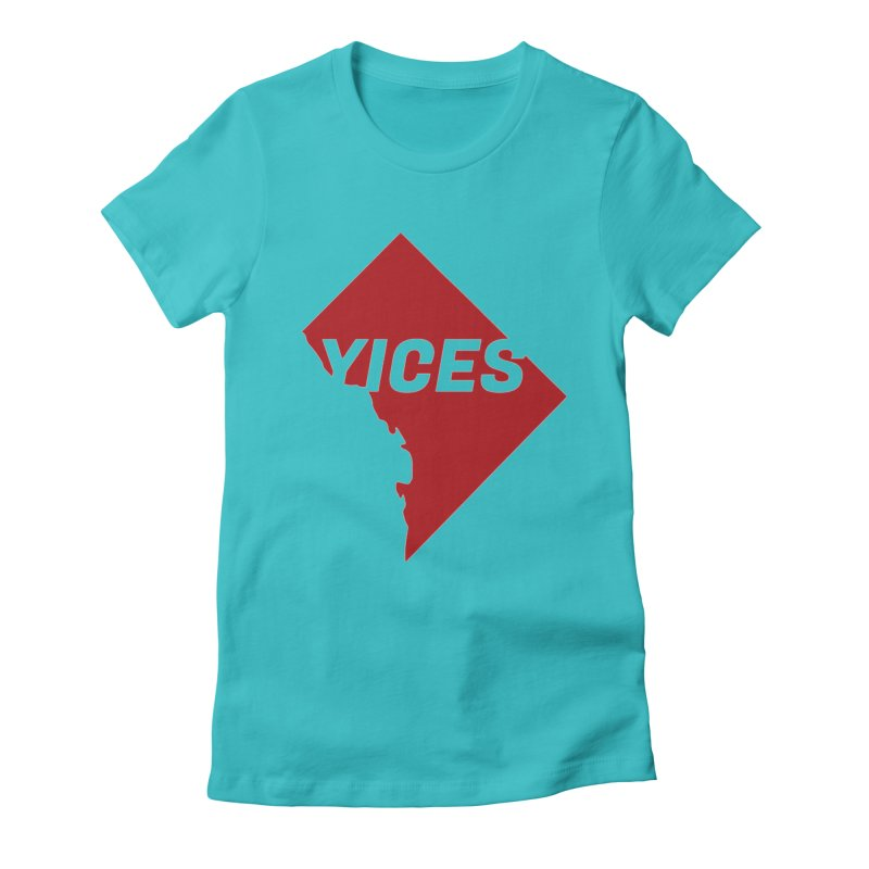 Yices DC Women's Fitted T-Shirt by Yices's Artist Shop