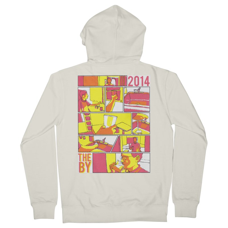 The By Men's Zip-Up Hoody by Yices's Artist Shop