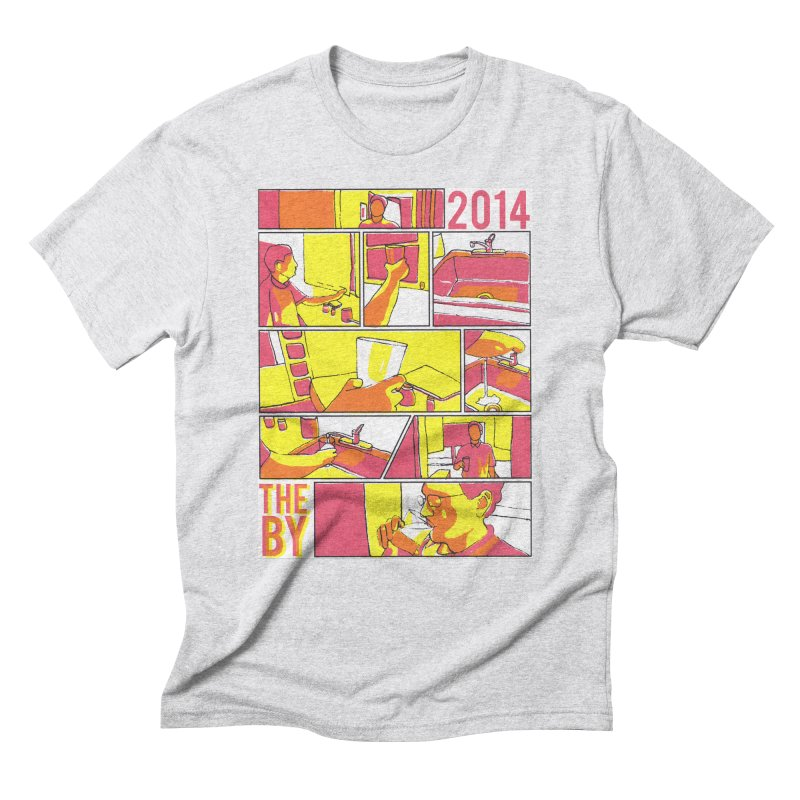 The By Men's Triblend T-shirt by Yices's Artist Shop