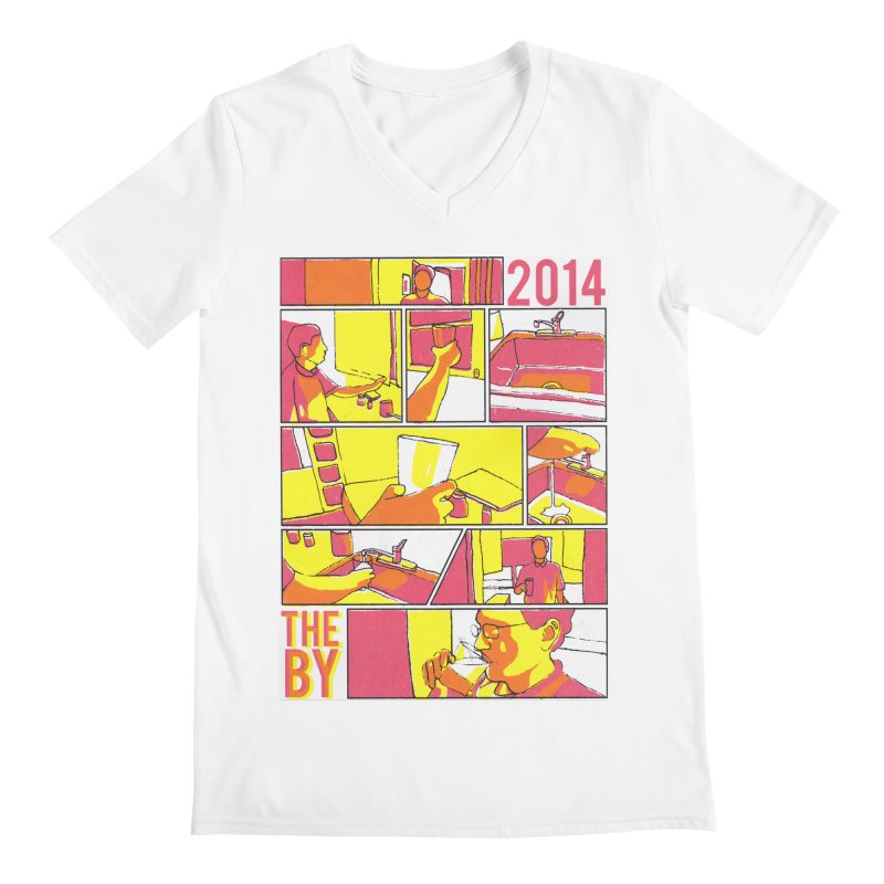 The By Men's V-Neck by Yices's Artist Shop