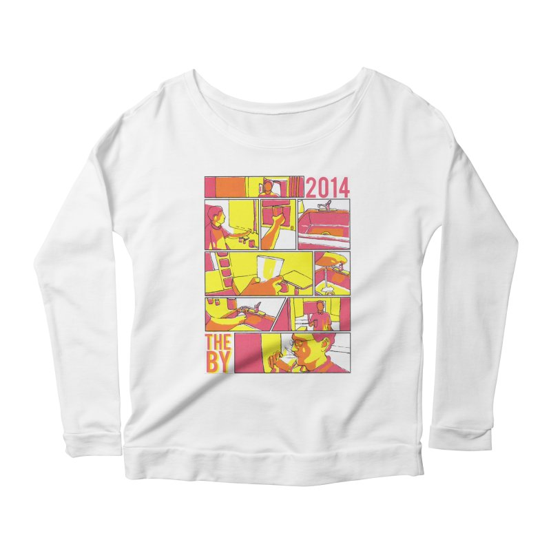 The By Women's Longsleeve Scoopneck  by Yices's Artist Shop