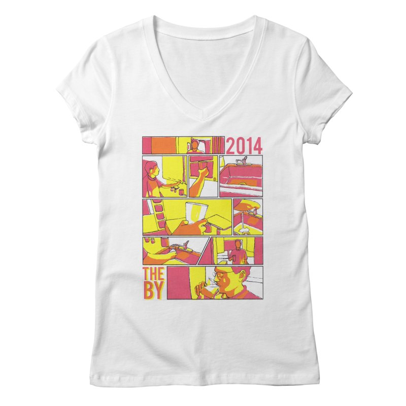 The By Women's Regular V-Neck by Yices's Artist Shop