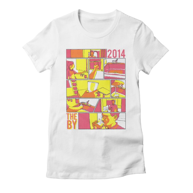 The By Women's Fitted T-Shirt by Yices's Artist Shop