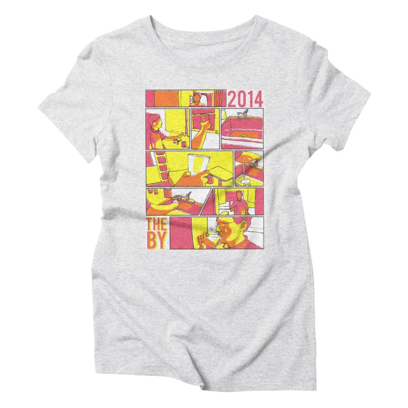 The By Women's Triblend T-Shirt by Yices's Artist Shop