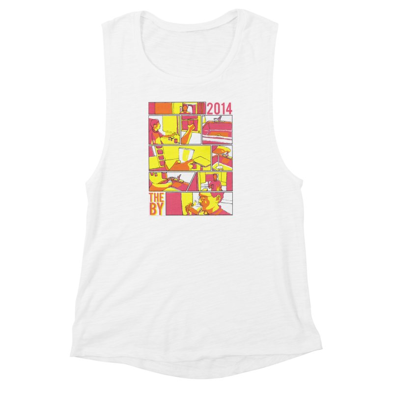The By Women's Muscle Tank by Yices's Artist Shop