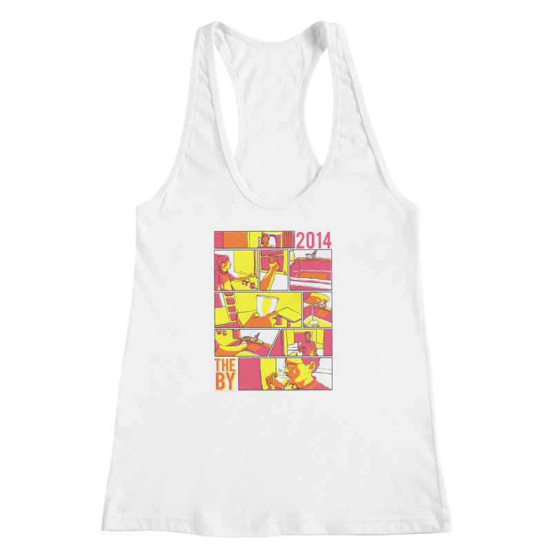 The By Women's Racerback Tank by Yices's Artist Shop