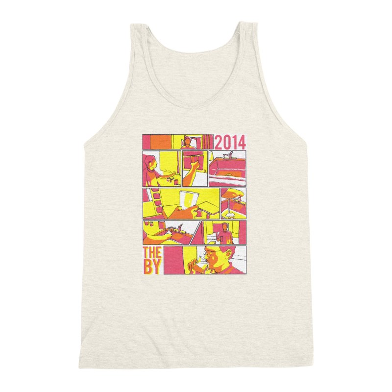 The By Men's Triblend Tank by Yices's Artist Shop