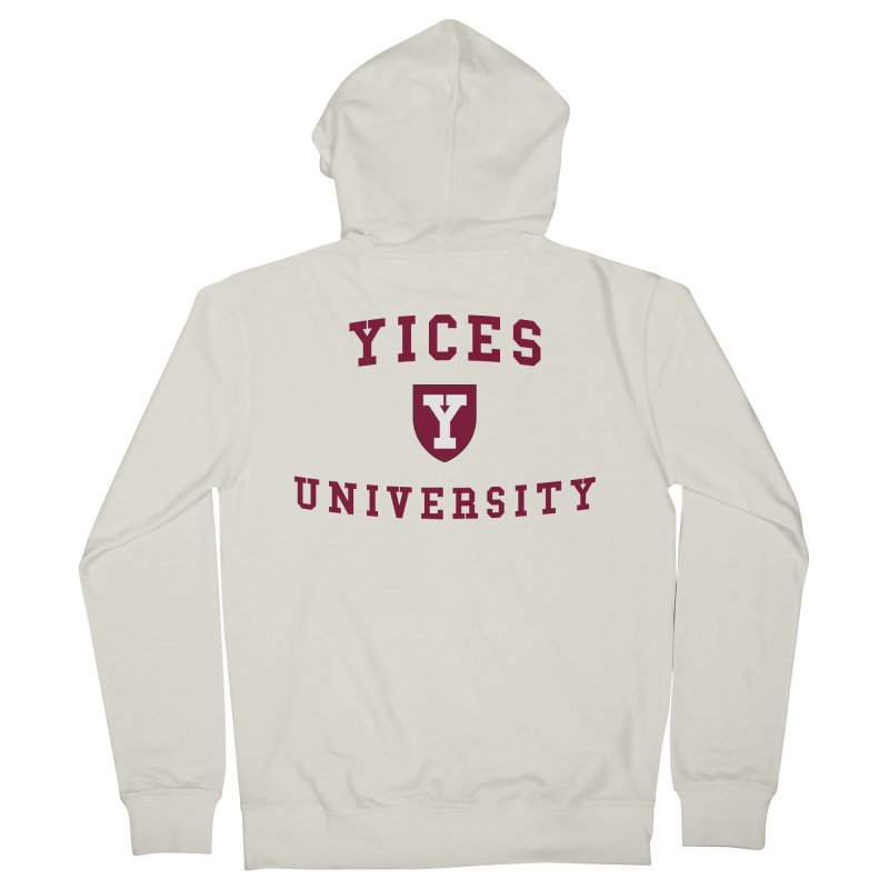Yices University Men's Zip-Up Hoody by Yices's Artist Shop
