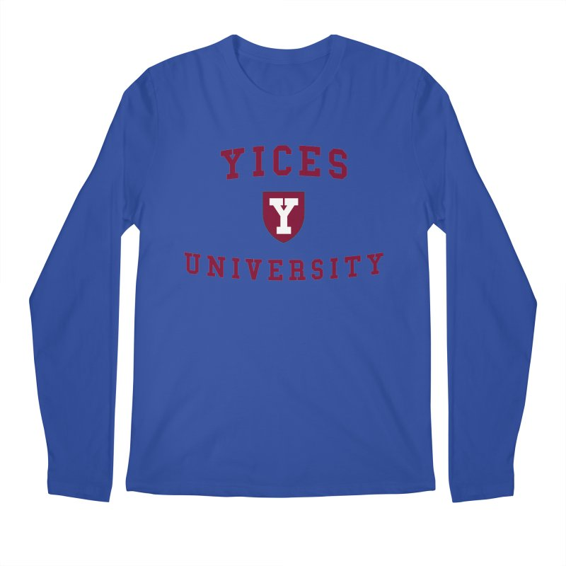 Yices University Men's Longsleeve T-Shirt by Yices's Artist Shop