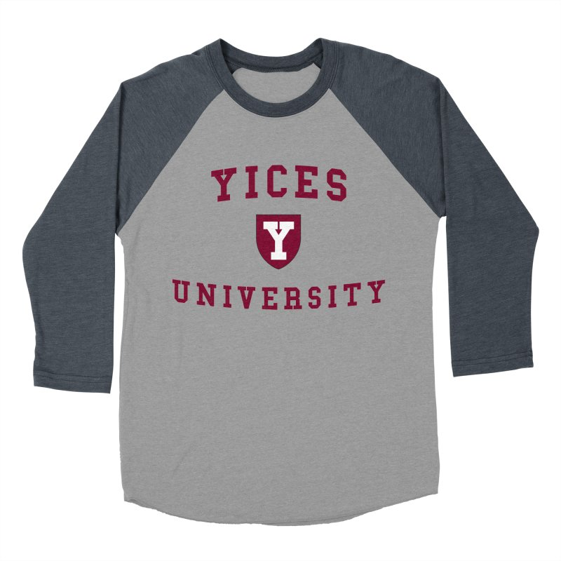 Yices University Women's Baseball Triblend T-Shirt by Yices's Artist Shop