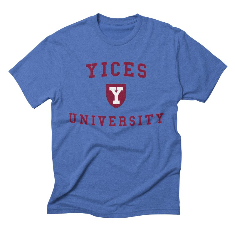 Yices University Men's Triblend T-shirt by Yices's Artist Shop