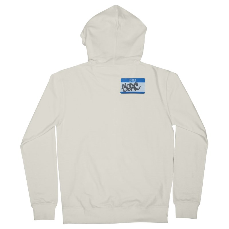 Hello Serc Men's Zip-Up Hoody by Yices's Artist Shop