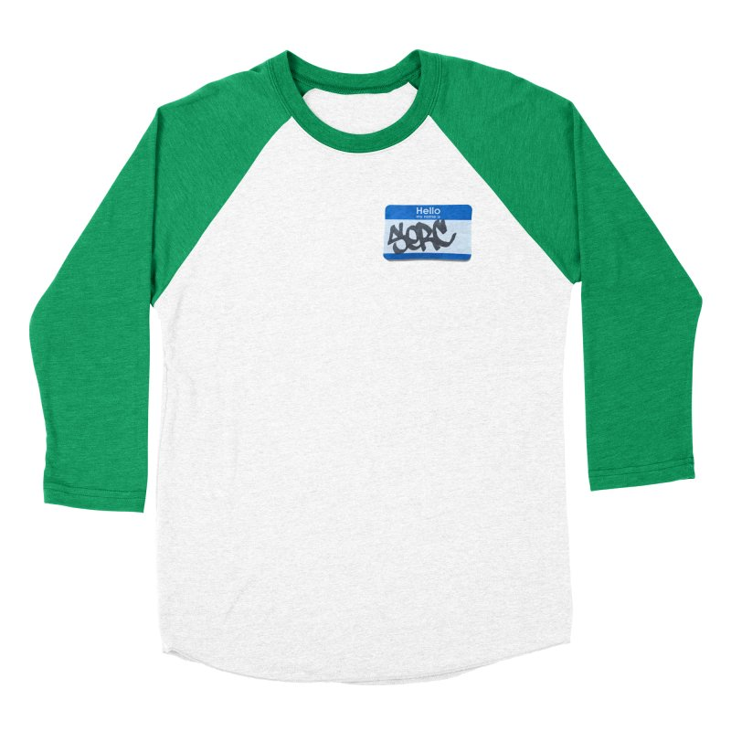 Hello Serc Men's Baseball Triblend T-Shirt by Yices's Artist Shop