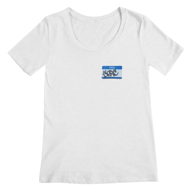 Hello Serc Women's Scoopneck by Yices's Artist Shop