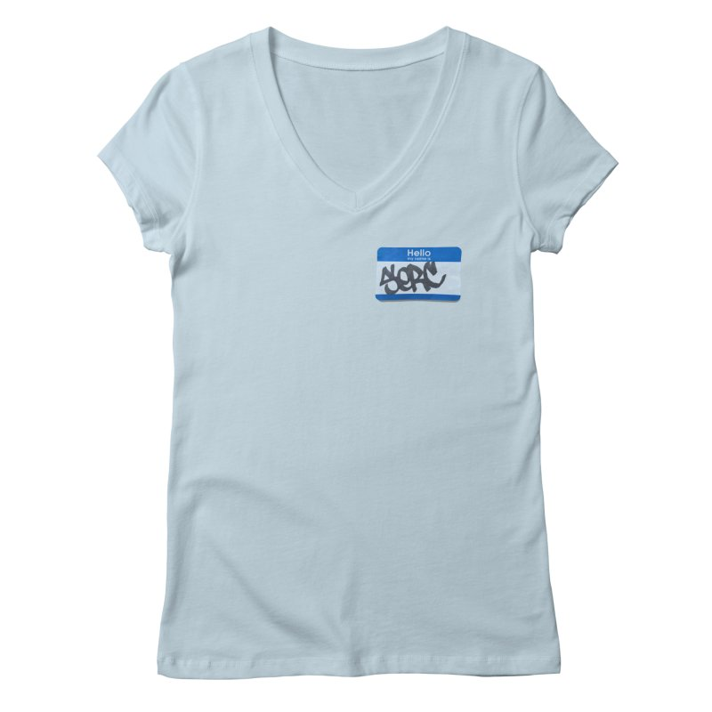 Hello Serc Women's Regular V-Neck by Yices's Artist Shop