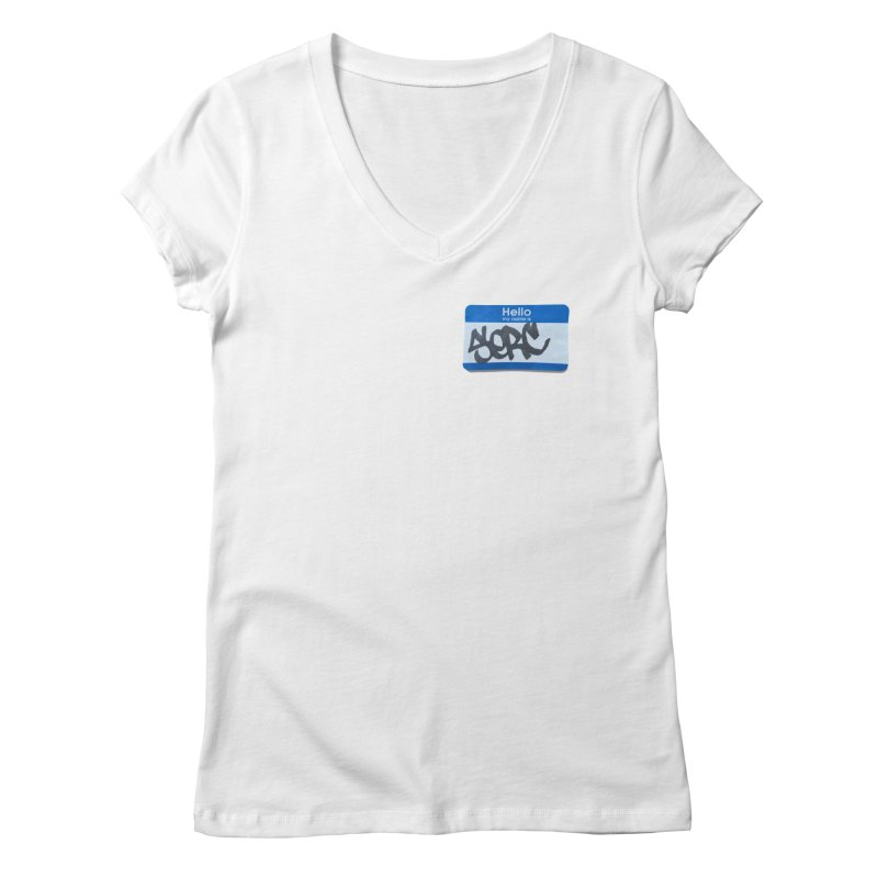 Hello Serc Women's V-Neck by Yices's Artist Shop
