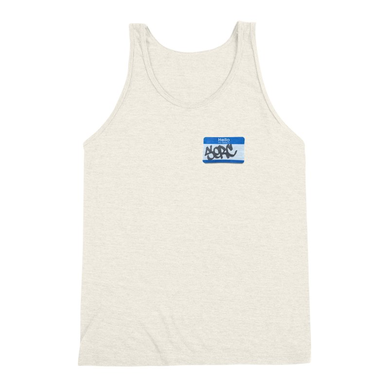 Hello Serc Men's Triblend Tank by Yices's Artist Shop