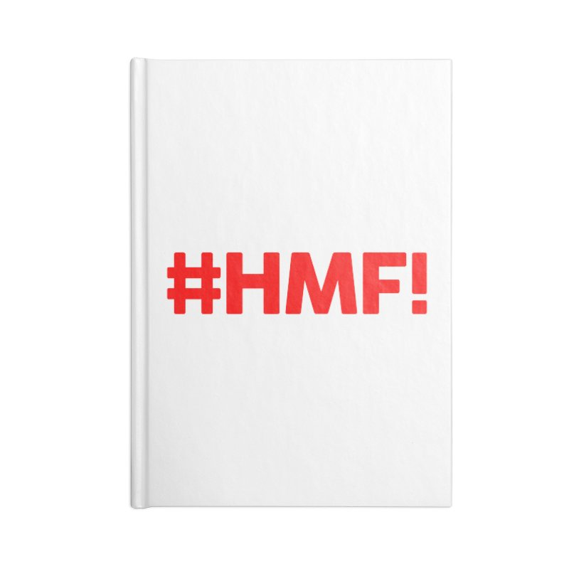 HMF! Accessories Notebook by YA! Store