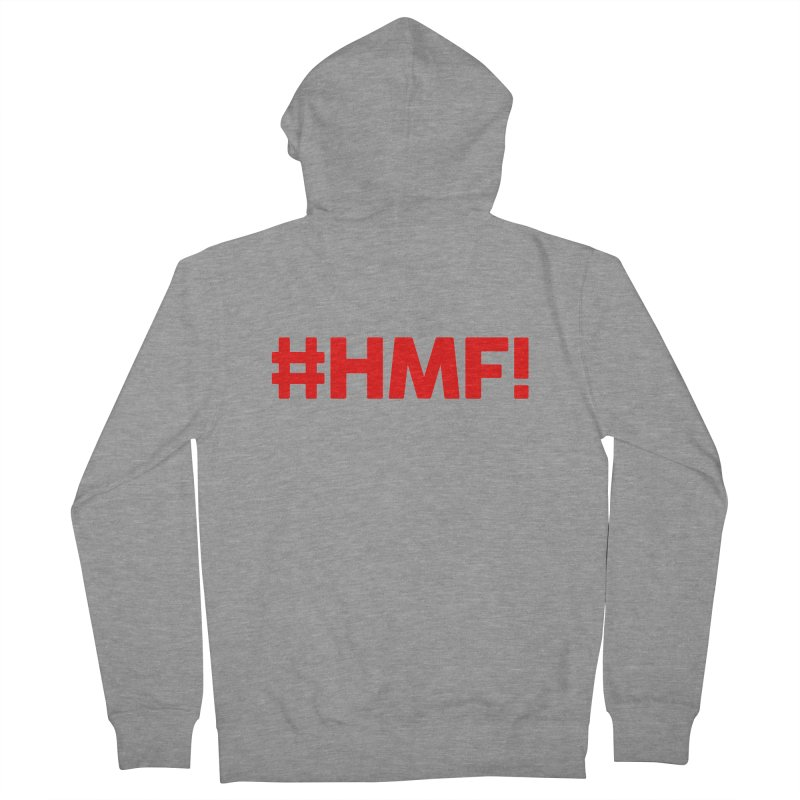 HMF! Men's French Terry Zip-Up Hoody by YA! Store