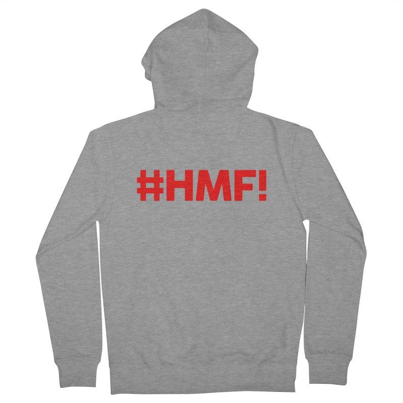 HMF! Men's Zip-Up Hoody by YA! Store