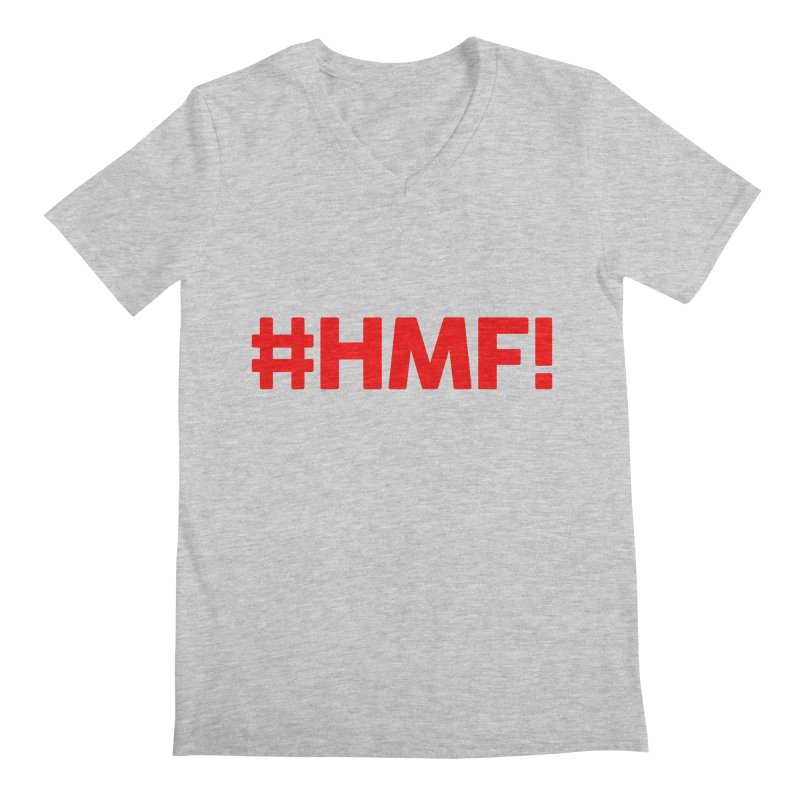 HMF! Men's Regular V-Neck by YA! Store