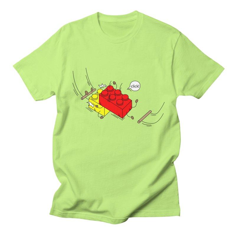 Lego Click! Men's T-shirt by Shop Yildiray Atas