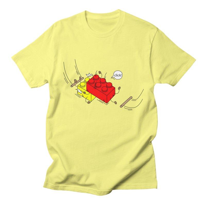 Lego Click! Men's Regular T-Shirt by YA! Store