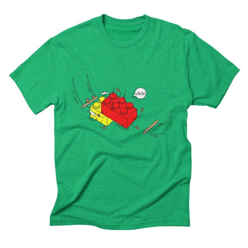 Lego Click! Men's Triblend T-shirt by Shop Yildiray Atas