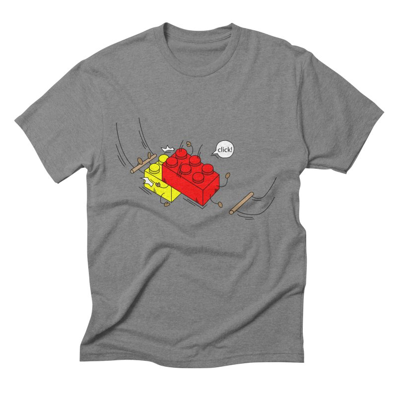 Lego Click! Men's Triblend T-Shirt by YA! Store