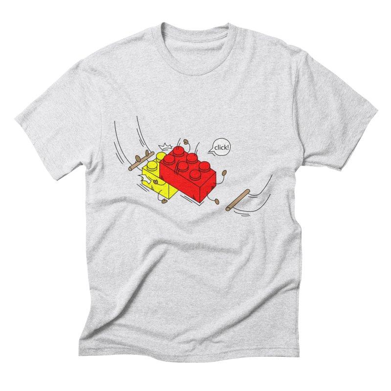 Lego Click! Men's Triblend T-Shirt by YA! Store