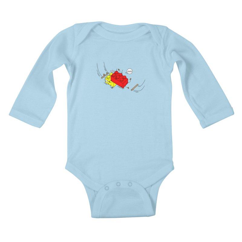 Lego Click! Kids Baby Longsleeve Bodysuit by YA! Store