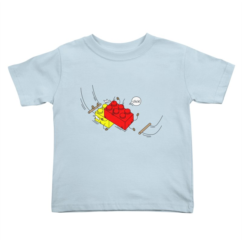 Lego Click! Kids Toddler T-Shirt by YA! Store
