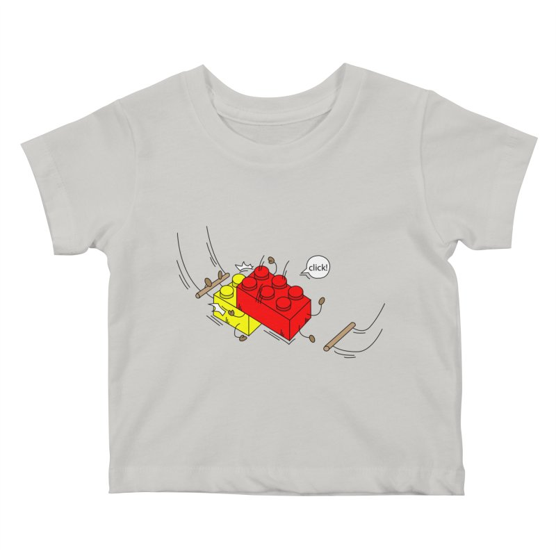Lego Click! Kids Baby T-Shirt by YA! Store
