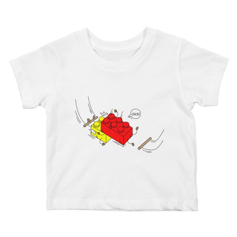 Lego Click! Kids Baby T-Shirt by Shop Yildiray Atas