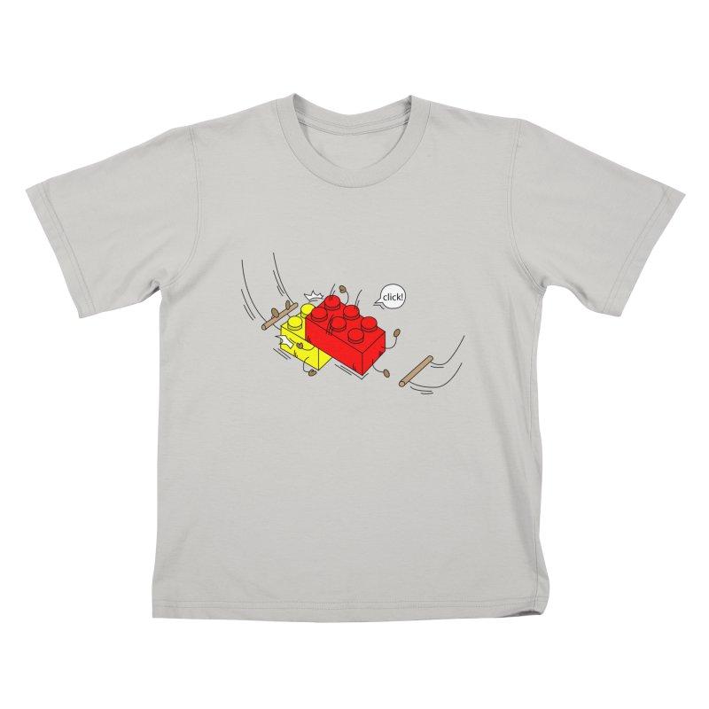 Lego Click! Kids T-Shirt by YA! Store