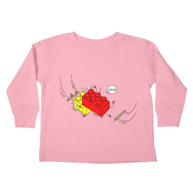 Lego Click! Kids Toddler Longsleeve T-Shirt by YA! Store